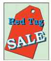 24'' X 36'' Red Tag Sale - 24'' X 36'' Poster - 1 Per Unit
