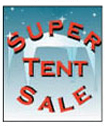 24'' X 36'' Super Tent Sale - 24'' X 36'' Poster - 1 Per Unit