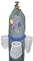 Balloon Caddy - Three pockets w/ velcro belt - 1 Per Unit