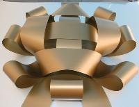 Jum Bow -Gold - 30'' wide with two 30'' long x 4 1/2'' wide tails