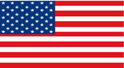 3x5 American Flag - 3' X 5' Nylon Stock Flag - 1 Per Unit