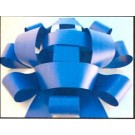 Jum Bow -Blue - 30'' wide with two 30'' long x 4 1/2'' wide tails